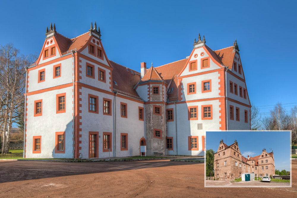 Stiftsgut-Schloss Lungkwitz / Kreischa